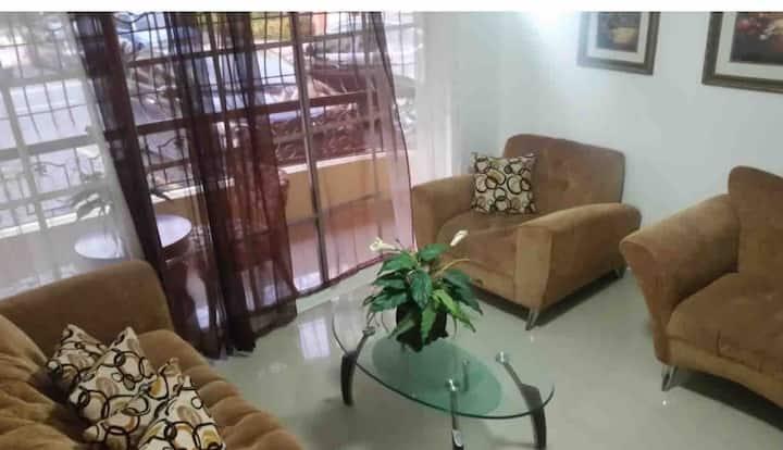1RD. Ideal apartamento para vacacionar St. Domingo