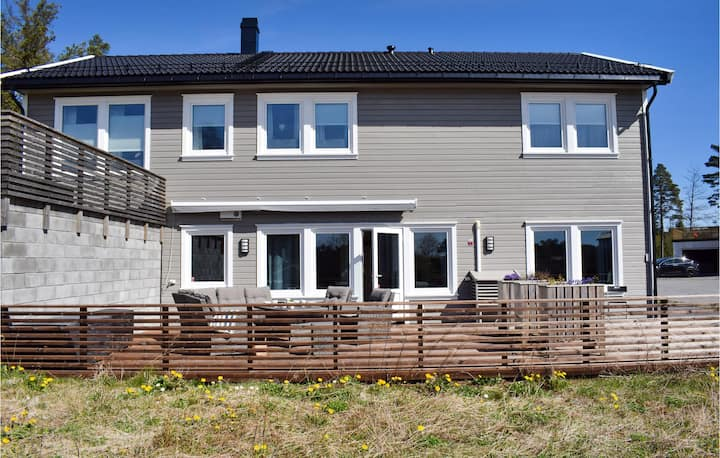 Amazing home in Grimstad with 4 Bedrooms