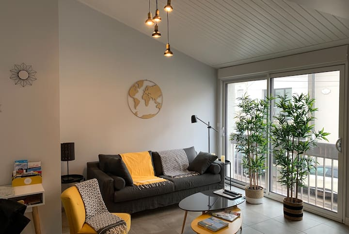 Superb renovated townhouse in the heart of Arago