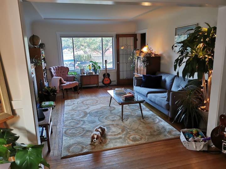 Bright, warm character home off Commercial Drive