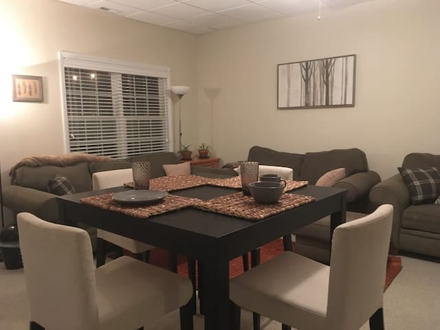 Private and spacious suite near downtown and UNC - Chapel Hill