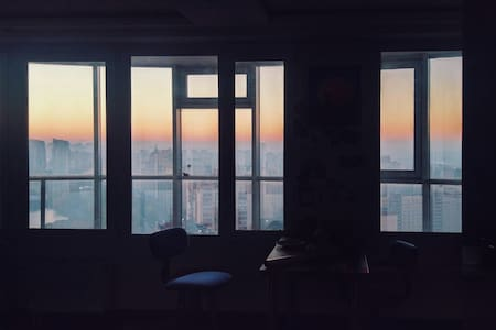 Квартира с потрясающим панорамным видом на Неву