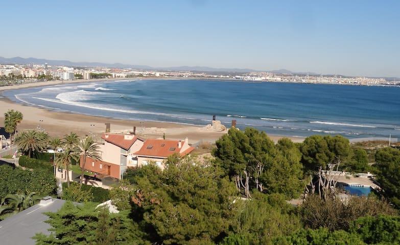 SALOU APARTAMENTO Gran Vista  a Mar  PISCINA  WIFI