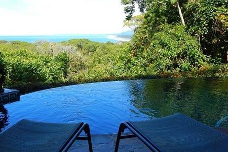 Panoramic Ocean Views-Gated Community-Private Pool