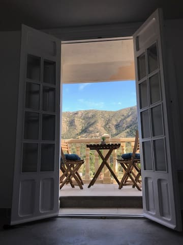 Alicante, huis met uitzicht, house with a view