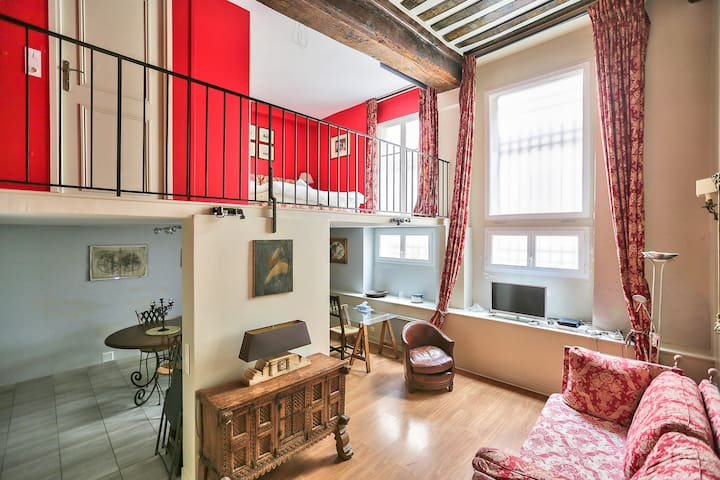 Come Live On An Island In The Heart Of Paris !