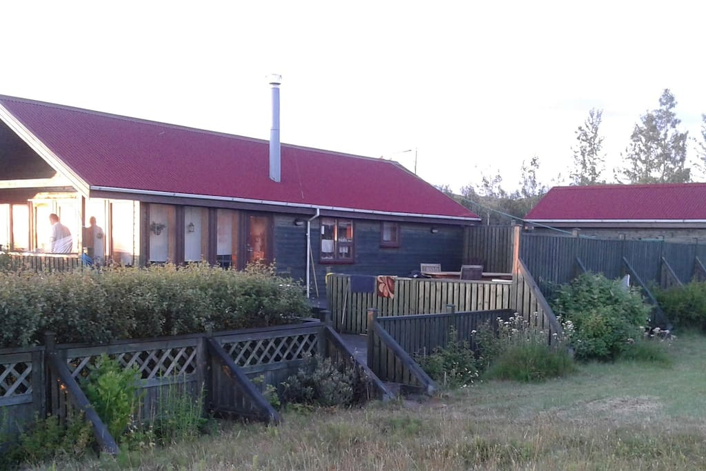 Country Cottage with Guest House