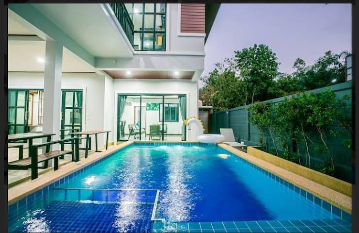 บ้านวิเศษพูลวิลล่า  Baan Viset Pool Villa
