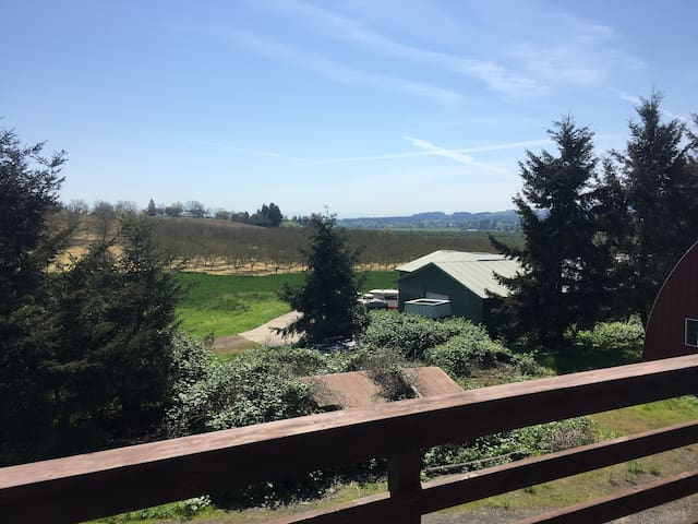 Wine Country Horse Barn with Spectacular Views - Hillsboro - Ev