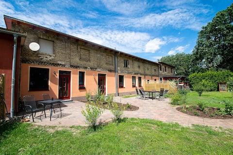 Ferienwohnung für zwei mit Terrasse in Wandlitz