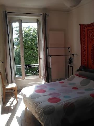 Chambre dans appartement, proche centre ville - Nancy - Apartment
