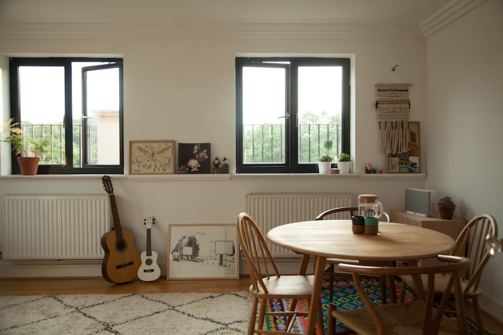 Green views in living space