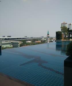 close to airportlink station huamak - Suan Luang - Apartamento
