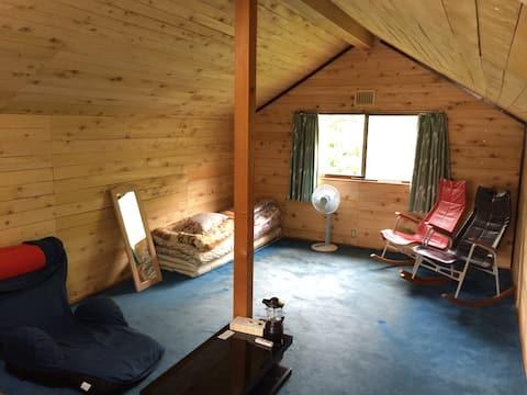 Fique tranquilo, limitado a um grupo por dia, casa de banho privada Sakuraba 2ª pessoa 3800 yen subúrbio de Hirosaki