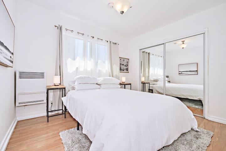 Bedroom #2 with Queen Bed