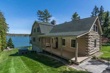 Beautiful Oceanfront Home - Harpswell - Kabin