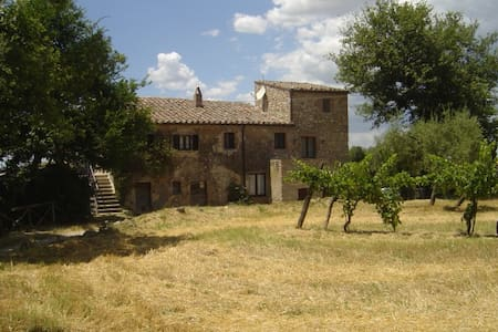 A beautiful cosy, rustic country house in Giove, Umbria, Italy with a private pool Casa Bandita is one half of a farmhouse and is one of the oldest houses in Giove. It is situated in a rural location, just on the outskirts of Giove.