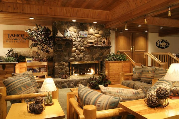 Affordable Cabin-inspired Suite @ South Lake Tahoe