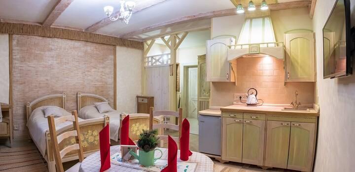Квартира-студия в историческом центре Гродно