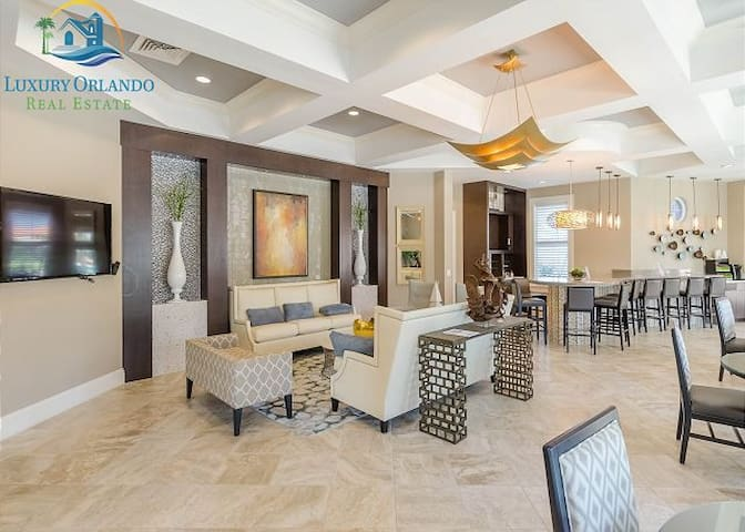 Luxury 6BD/5BA Resort Villa @Disney Orlando
