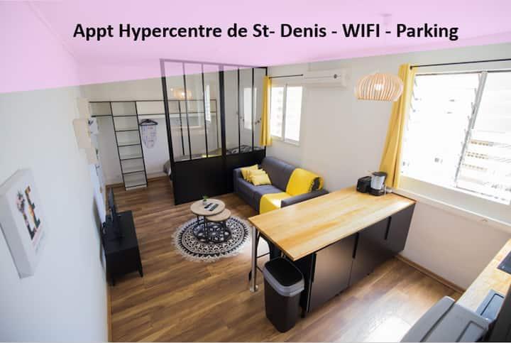 Appartement Hypercentre + place de parking privée