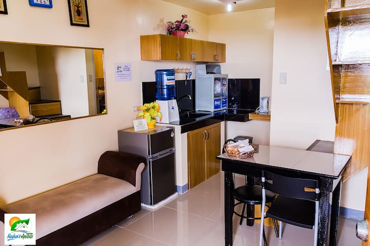 Semi Furnished Loft units Jagna w/ Wifi and Shower