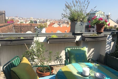 NEW renovated Flat with Rooftop Terrace Schönbrunn - Appartement