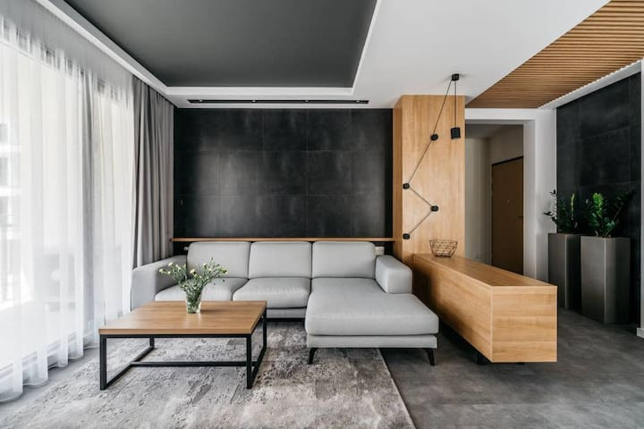 Urban modern designed Apartment with gym&parking by Vistula River* PARKING