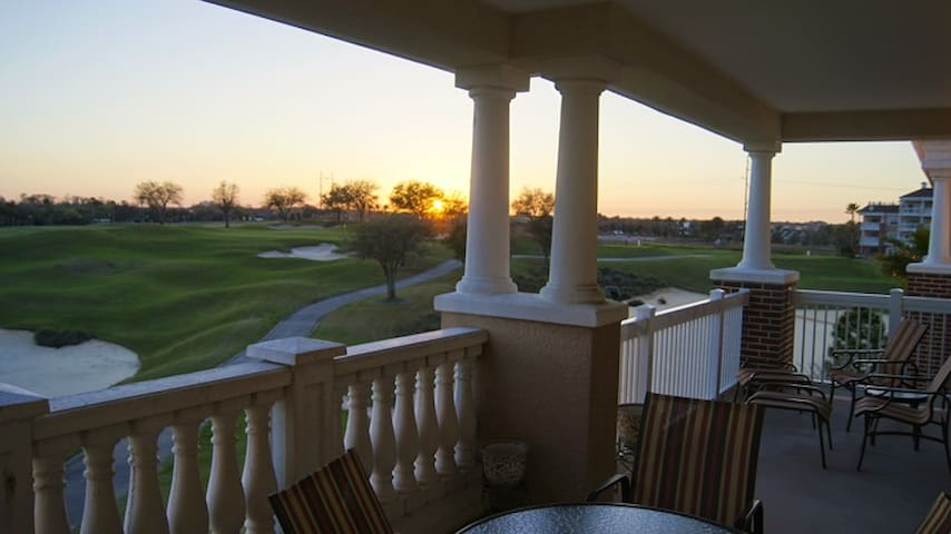 Sunset-view condo in Reunion Resort - Kissimmee - Pis