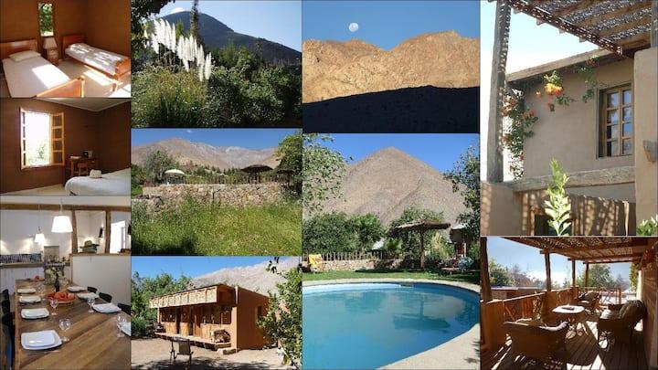 Casa familiar en Pisco Elqui