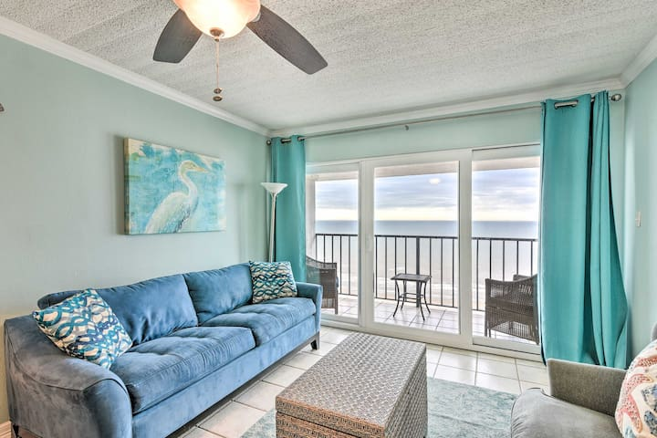 NEW! Beachfront Condo w/ Pool Access & Gulf View!