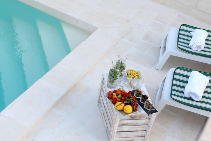 Buen Retiro1 with  swimming pool