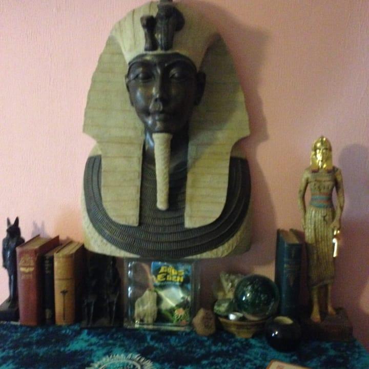 The Center of Divine Light # 7 Egyptian room