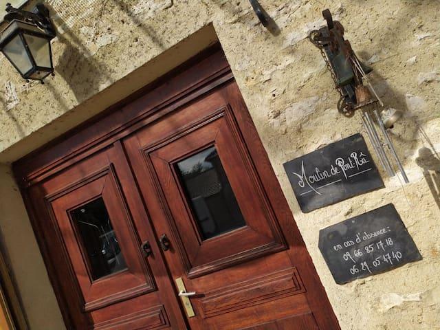 Magnifique Moulin du 18ème dans le Vexin - 4 pers