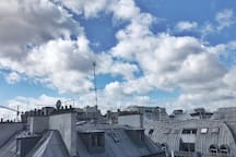 View from terrasse