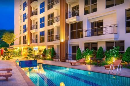 City Garden Pratumnak Room A809 - 芭達雅 - 公寓
