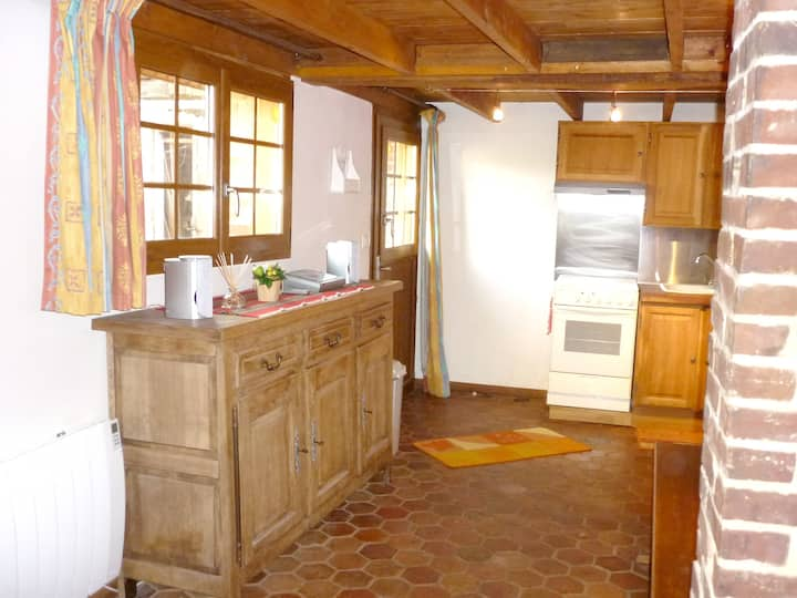 House with 2 bedrooms in Touffreville-sur-Eu, with furnished garden and WiFi - 4 km from the beach