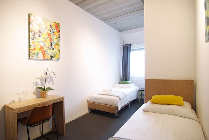 Cozy room for 2 close to Amstel river