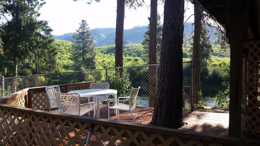 New!  On-the-River Hideaway very close to L'worth! - Leavenworth - Wohnung