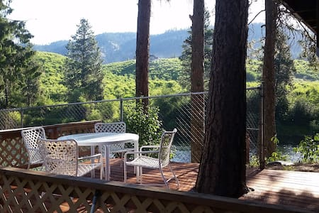 New!  On-the-River Hideaway very close to L'worth! - Leavenworth - Leilighet