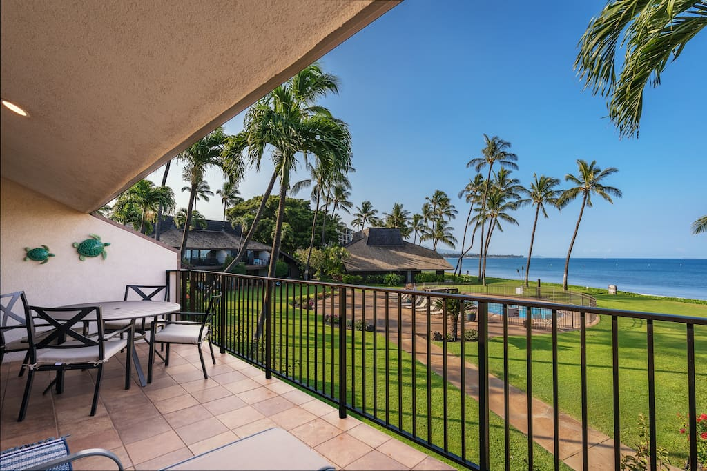 Nearly 200 square feet of private lanai space