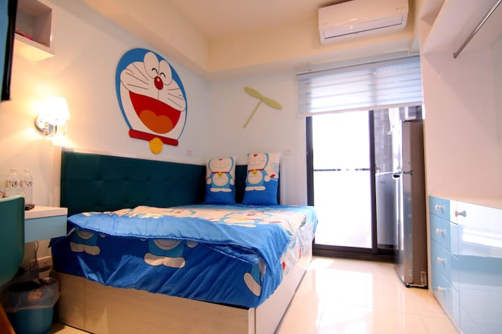 竹南主題套房-小叮噹 - Zhunan Township - Appartement