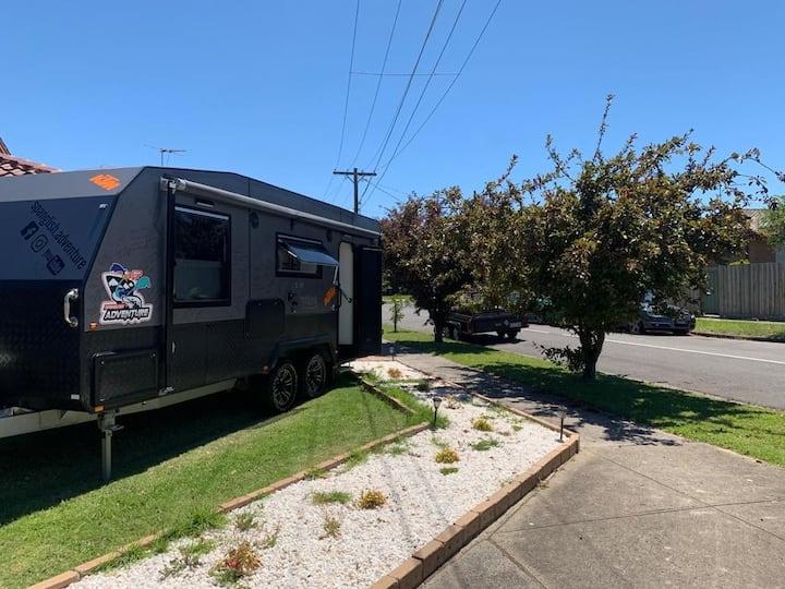 Caravan experience in Melbourne