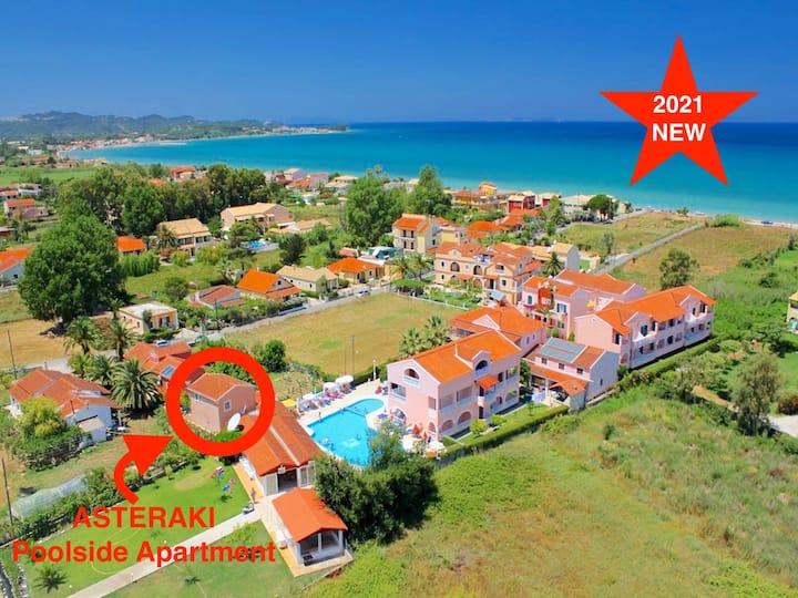 Asteraki Poolside Apartment - new for 2021 - A...