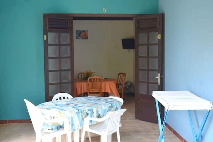 House with one bedroom in Les Anses-d'Arlet, with enclosed garden and WiFi
