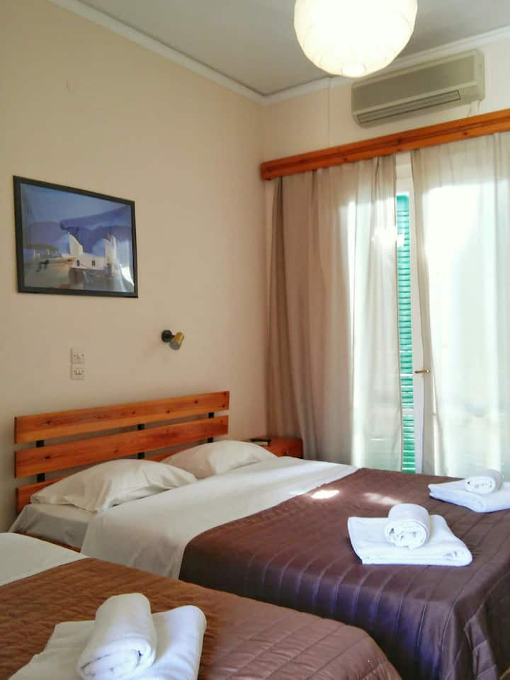 Hotel Aegina Triple Room 1DBL&1single bed OR 3beds