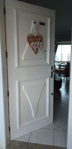 Porta de entrada. Seja bem vindo!