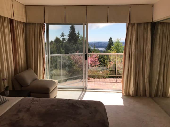 West Vancouver private bedroom.