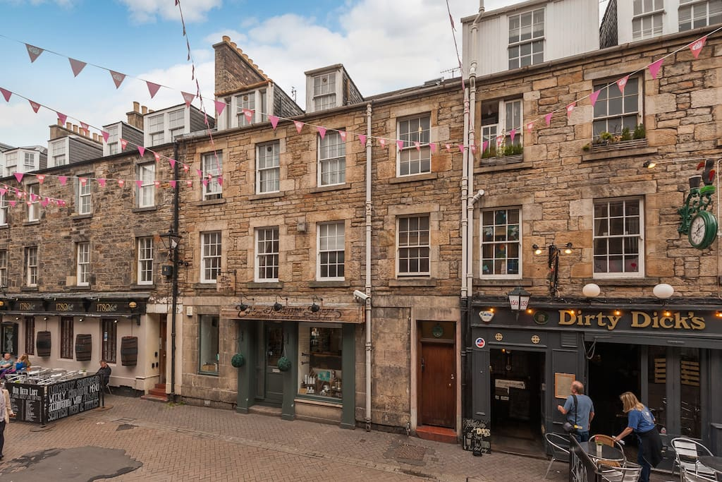 Restaurants Near Rose Street Edinburgh