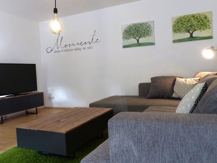 Ferienwohnung Bollenbach, (Haslach-Bollenbach), Ferienwohnung, 58qm, 1 Schlafzimmer, max. 4 Personen
